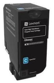 Lexmark 74C2HC0 Return Program Toner Cartridge Cyan