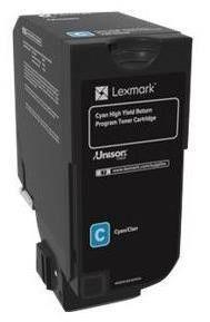 Rašalinio spausdintuvo kasetė Lexmark 74C2HC0 Return Program Toner Cartridge Cyan