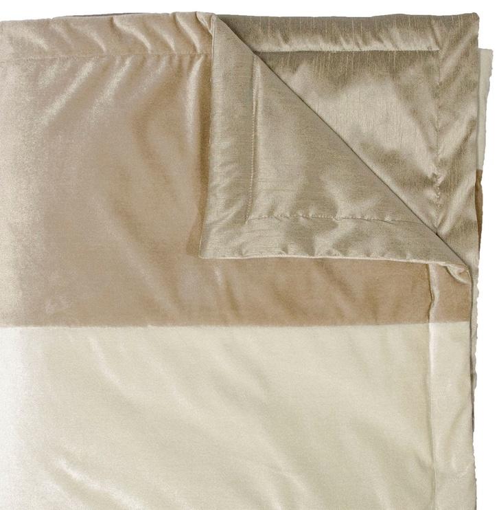 Home4you Deluxe 2 Bedspread 240x240cm Beige/Gold