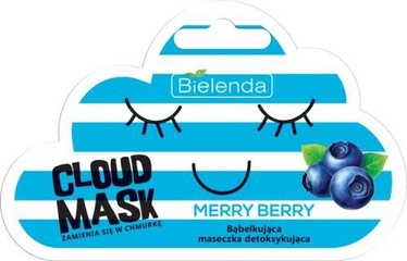 Bielenda Cloud Mask Detoxifying Bubble Mask Merry Berry 6g