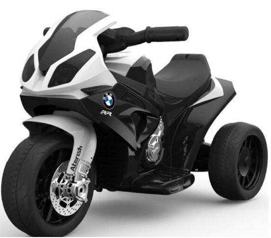 Žaislinis akumuliatorinis motociklas BMW S1000R/JT5188 Black