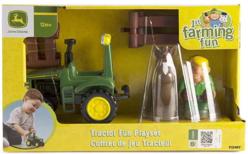 Žaislinė figūrėlė Tomy Tractor Fun Playset 43067A2