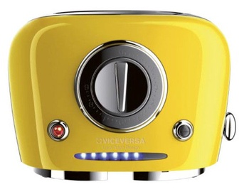 ViceVersa Tix Pop-Up Toaster Yellow 50021