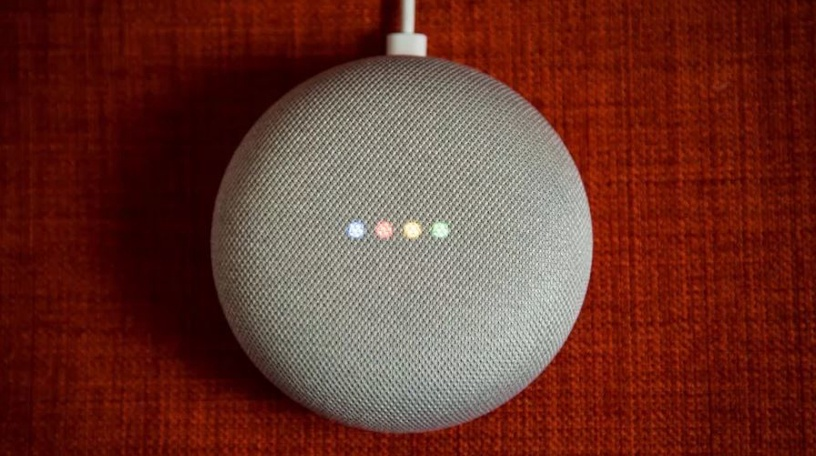 Valdymo konsolė Google Home Mini Chalk