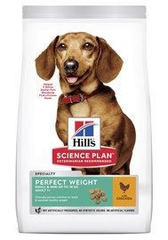 Hill's Science Plan Perfect Weight Adult Dog Food w/ Chicken 1.5kg