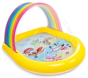 Bassein Intex Spray Pool Rainbow, mitmevärviline, 83 l