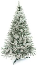 AmeliaHome Lena Christmas Tree Green With Snow 180cm