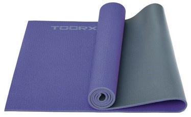 Fitnesa un jogas paklājs Toorx Yoga Mat Purple/Grey 173x60x0.6cm