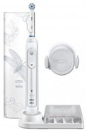 Электрическая зубная щетка Oral-B Oral-B Genius 10000N Lotus, белый