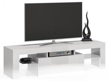 TV galds Top E Shop Deko 140, balta, 1400x400x450 mm