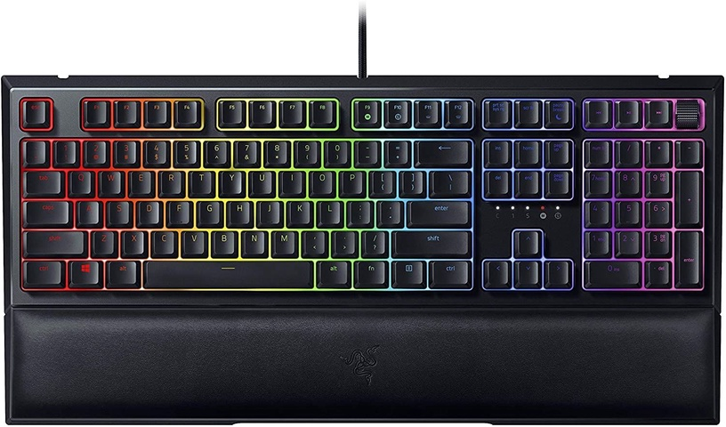 Игровая клавиатура Razer Ornata V2 Razer Hybrid Mecha-Membrane EN/RU