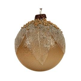 Ziemassvētku eglītes rotaļlieta 060238 Brown, 80 mm, 3 gab.