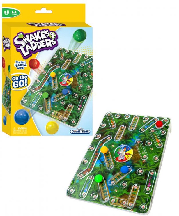 GALDA SPĒLE SNAKES AND LADDERS 61145