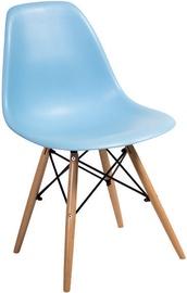 Ēdamistabas krēsls Signal Meble Enzo Blue, 1 gab.