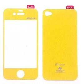 Mercury Screen Color For Apple iPhone 4 Yellow