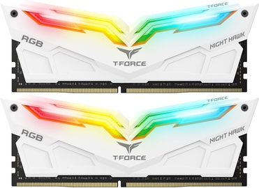 Team Group T-Force Nighthawk White RGB Series 32GB 3200MHz CL16 DDR4 KIT OF 2 TF2D432G3200HC16CDC01