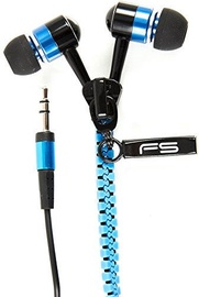 Ausinės FreeStyle Zip Universal Headphones Blue