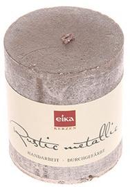 Eika Rustic Metallic 8x7cm Grey