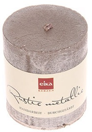 Eika Rustic Metallic 8x7cm Grey