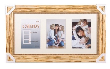 Victoria Collection Retro Gallery 20x40cm Natural Wood