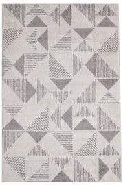Ковер Evelekt Lotto 2, белый/серый, 150 см x 100 см