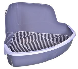 Kačių tualetas Zolux MAISON, pilkas, 310x205x415 mm