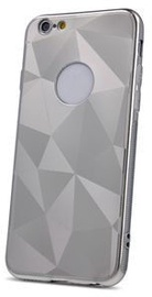 iLike Geometric Shine Back Case For Samsung Galaxy S10e Silver