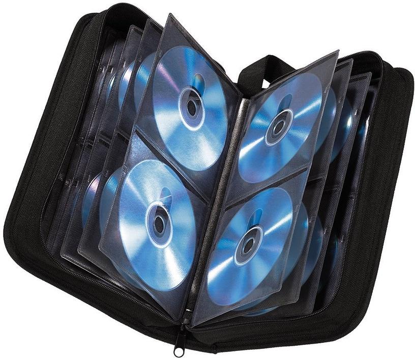 Hama CD/DVD/Blu-Ray Wallet 64 Black