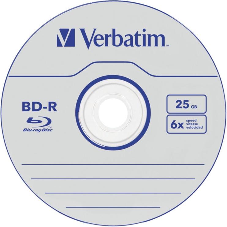 Verbatim BD-R SL Datalife 25GB 50pcs