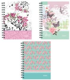 Herlitz Spiral Hardback Notebook A6 Ladylike Assortment 11232543