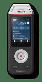 Diktofon DVT2110, must, 8 GB