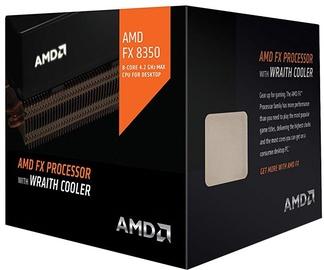 AMD FX-Series FX-8350 4GHz 8MB BOX w/Wraith Cooler FD8350FRHKHBX