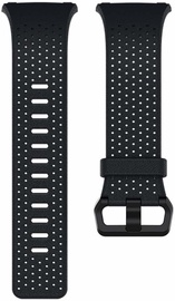 Fitbit Ionic Perforated Horween Leather Band Midnight Blue Large