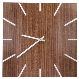 Mocco Wood Wall Clock Brown