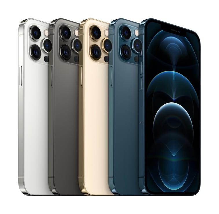 Мобильный телефон Apple iPhone 12 Pro Max, золотой