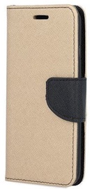 Mocco Fancy Book Case For Huawei Mate 20 Lite Gold/Black