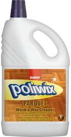 Sano Poliwix Parquet Wash & Wax Cleaner 1l