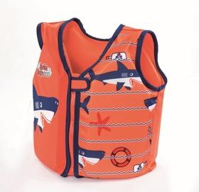 Спасательный жилет Bestway 32177, oранжевый/розовый, M, 18 кг