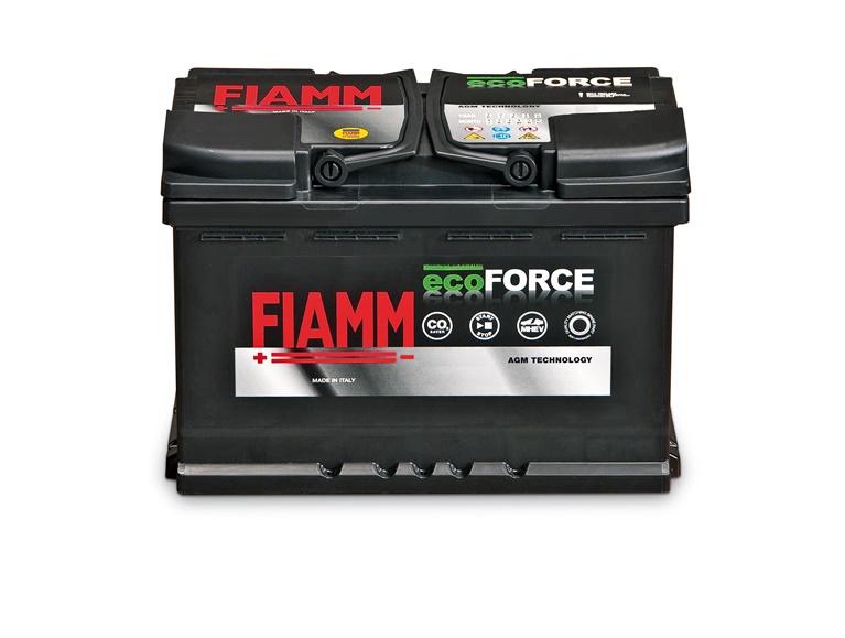 Akumulators Fiamm Ecoforce, 90 Ah, 900 A, 12 V