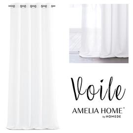 Dienas aizkari AmeliaHome Voile, balta, 1400 mm x 2700 mm