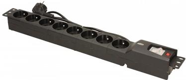 Lestar Surge Protector 8 Outlet Black 1.5 m