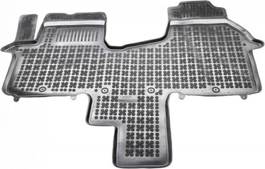 REZAW-PLAST Renault Traffic III 2014 Front 2-Person Rubber Floor Mats