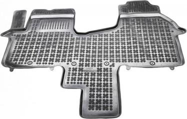Резиновый автомобильный коврик REZAW-PLAST Renault Traffic III 2014 Front 2-Person, 1 шт.