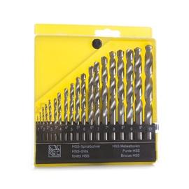 Набор сверл по металлу (19 шт., 1-10 мм, шаг 0,5 мм) VAGNER