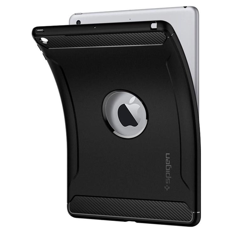 Spigen Rugged Armor Case For Apple iPad 9.7 2018/9.7 2017 Black