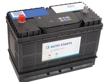 Аккумулятор Auto Starts Heavu Duty, 12 В, 105 Ач, 800 а