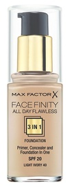 Max Factor Face Finity All Day Flawless 3in1 Foundation 30ml 40