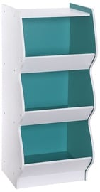 Songmics Toy Storage Shelf White/Blue