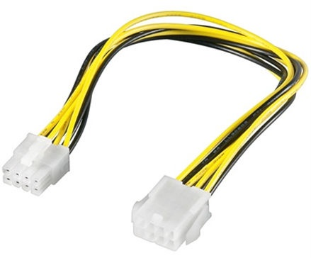 OEM 8-Pin Plug/Jack Extension 0.28m