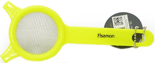 Fissman Strainer 6cm Plastic Yellow 7475